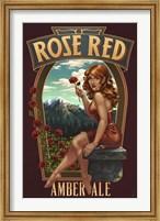 Rose Red Amber Ale Fine Art Print