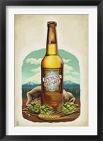 American Light Lager Beer Fine Art Print