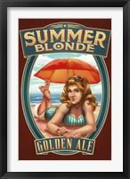 Summer Blonde Golden Ale Fine Art Print