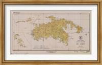 Map of St. John Fine Art Print