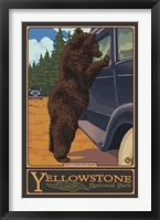 Don't Feed The Bears Yellowstone Fine Art Print