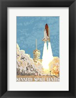 Kennedy Space Center Ad Fine Art Print