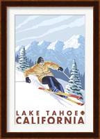 Lake Tahoe Mountain Ski Fine Art Print
