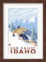 Sun Valley Idaho Ski Fine Art Print