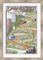 Lombard Street San Francisco Fine Art Print