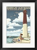 Barnegat Lighthouse New Jersey Fine Art Print