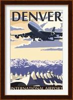 Denver Airport Ad Fine Art Print