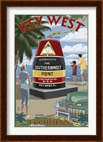 Key West Southernmost Point Fine Art Print