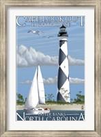 Cafe Lookout Lighthouse Carolina Fine Art Print