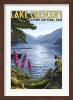 Lake Crescent Olympic Park Fine Art Print