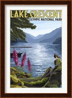 Lake Crescent Olympic Park Fine Art Print