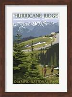Hurricane Ridge Olympic Park Fine Art Print