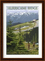 Hurricane Ridge Olympic Park Fine Art Print