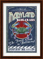 Maryland Blue Crabs Fine Art Print