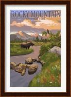 Rocky Mountain Park Moose Fine Art Print