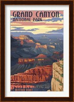 Grand Canyon Park Mather Point Fine Art Print