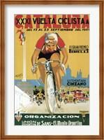 Vuelta Ciclista XXXVI Cataluna Bicycle Fine Art Print