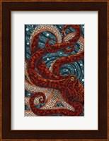 Octopus Mosaic Fine Art Print