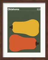 Montague State Posters - Oklahoma Fine Art Print