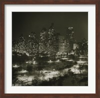 Winter Central Park Fine Art Print