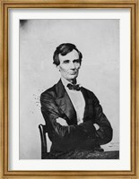 Abraham Lincoln, Candidate for U.S. President Fine Art Print