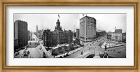 City Hall and Campus Martius, Detroit Fine Art Print