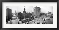 City Hall and Campus Martius, Detroit Fine Art Print