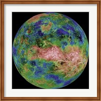 Hemispheric View of Venus Fine Art Print
