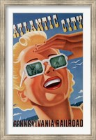 Atlantic City Sunglasses Fine Art Print