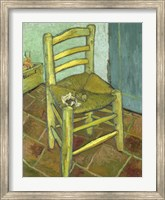 Vincents Chair with His Pipe Fine Art Print