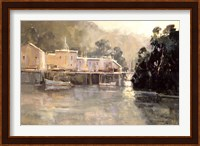 Morning Harbor, Mendocino Fine Art Print