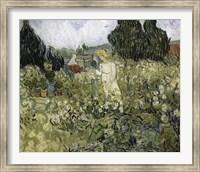 Marguerite Gachet In The Garden Fine Art Print