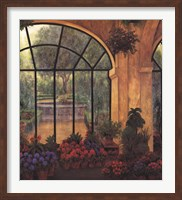 Arches & Flowers Fine Art Print