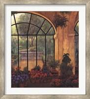 Arches & Flowers Fine Art Print