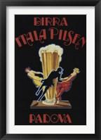 Itala Pilsen Bier Fine Art Print