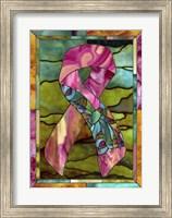 Breast Cancer Ribbon Fine Art Print