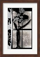 Asian Iris in Window Fine Art Print
