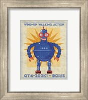 Boris Box Art Robot Fine Art Print