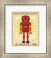 Ted Box Art Robot Fine Art Print