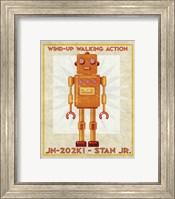 Stan Jr. Box Art Robot Fine Art Print
