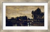 Boats On The Oise, 1865 Fine Art Print