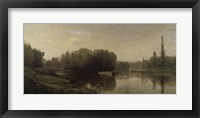The Banks Of The Oise, 1859 Fine Art Print