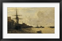The Thames At Erith Fine Art Print