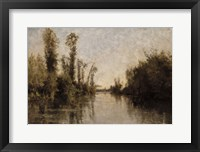 Banks Of The Seine, 1851 Fine Art Print