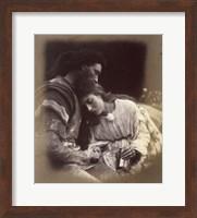 The Parting Of Lancelot And Queen Guenievre,  1874-1875 Fine Art Print