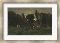 The Graveyard At Villerville (Calvados), 1875 Fine Art Print