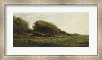 Graves Of Villerville Fine Art Print