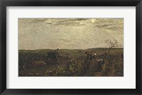 Wine Harvest In Burgundy, 1863 Fine Art Print