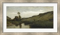 The Large Valley Of Optevoz, 1857 Fine Art Print
