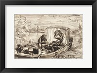 Luncheon on the boat (Dejeuner en bateau) Fine Art Print